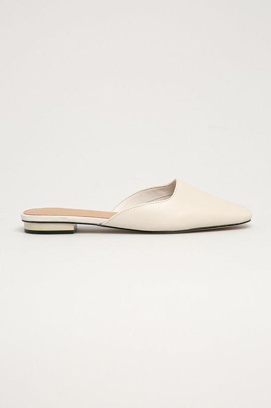 bílá Aldo - Kožené pantofle Alyssaa 100 Dámský