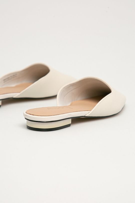 Aldo - Kožené pantofle Alyssaa 100  Svršek: Přírodní kůže Podrážka: Umělá hmota