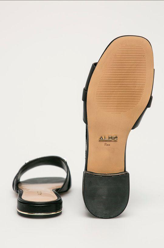 Aldo - Klapki skórzane Sevyflex Cholewka: Skóra naturalna, Wnętrze: Materiał syntetyczny, Podeszwa: Materiał syntetyczny