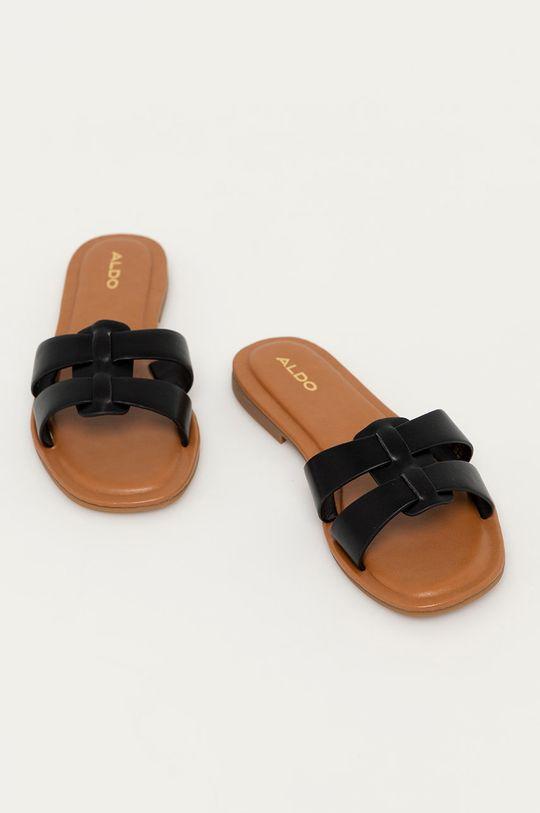 Aldo - Pantofle ERESWEN černá
