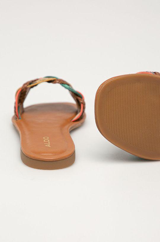 Aldo - Kožené pantofle Lothelalian  Umělá hmota