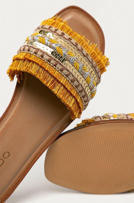 žlutá Aldo - Pantofle Rockyy