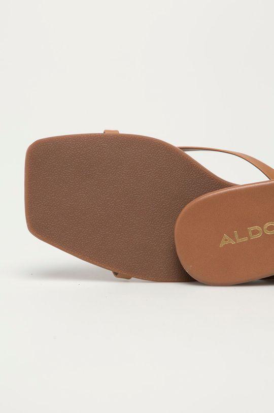 Aldo - Klapki skórzane Kederi Cholewka: Skóra naturalna, Podeszwa: Materiał syntetyczny
