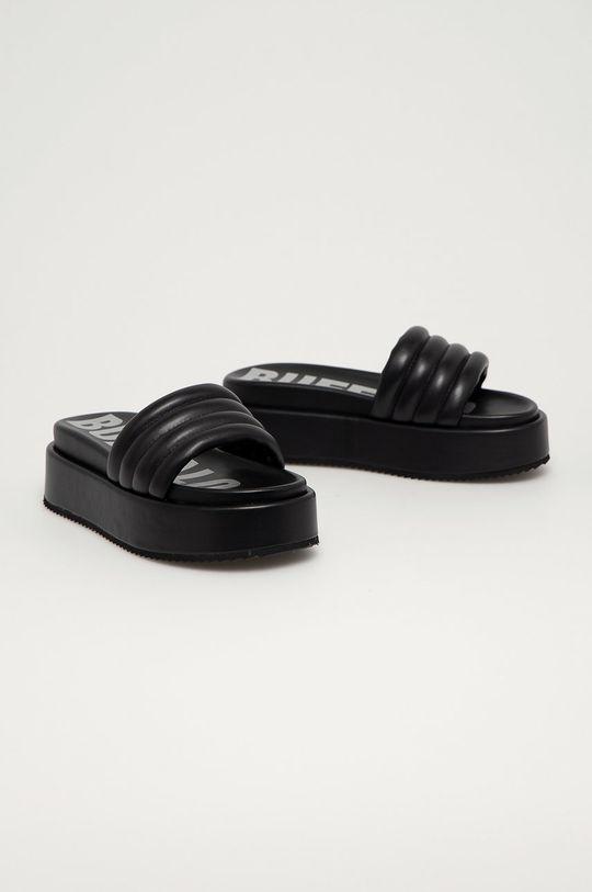 Buffalo - Pantofle Rovena černá