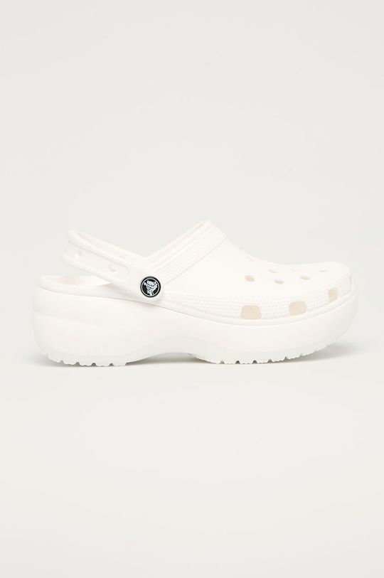 bílá Crocs - Pantofle Dámský