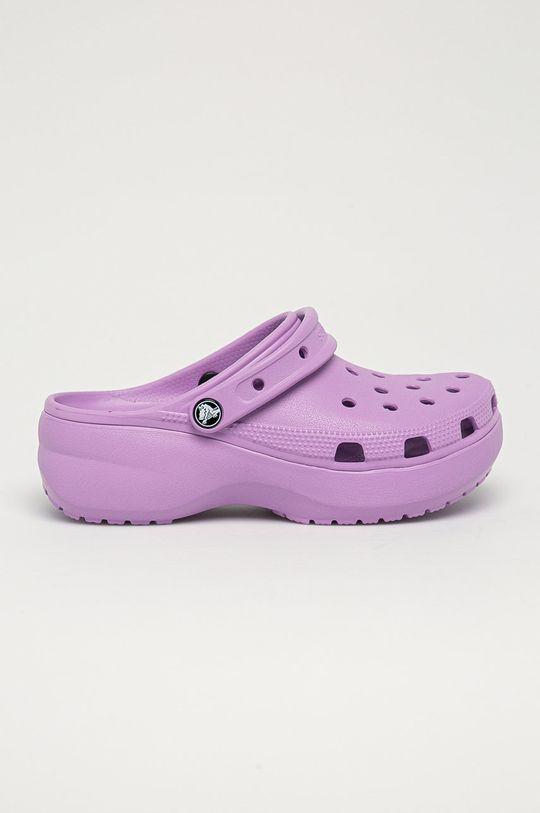 fialová Crocs - Pantofle Dámský