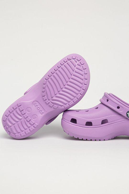 Crocs - Pantofle fialová