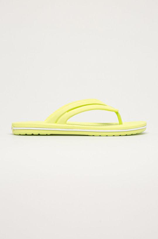 jasně žlutá Crocs - Žabky Dámský
