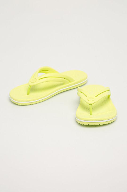 Crocs - Žabky jasně žlutá