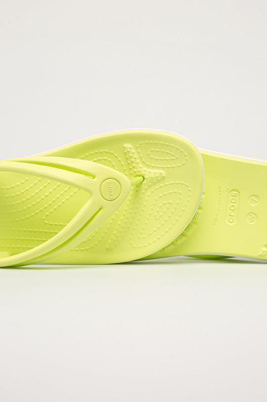 jasně žlutá Crocs - Žabky