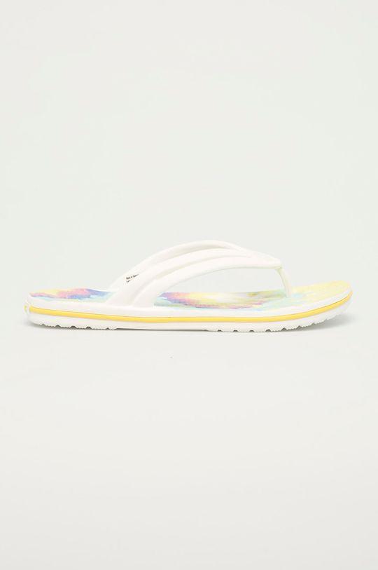 biały Crocs - Klapki Damski