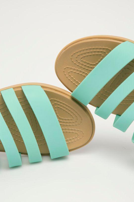 tyrkysová Crocs - Sandály