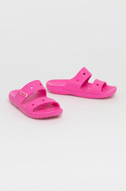 Crocs - Klapki różowy