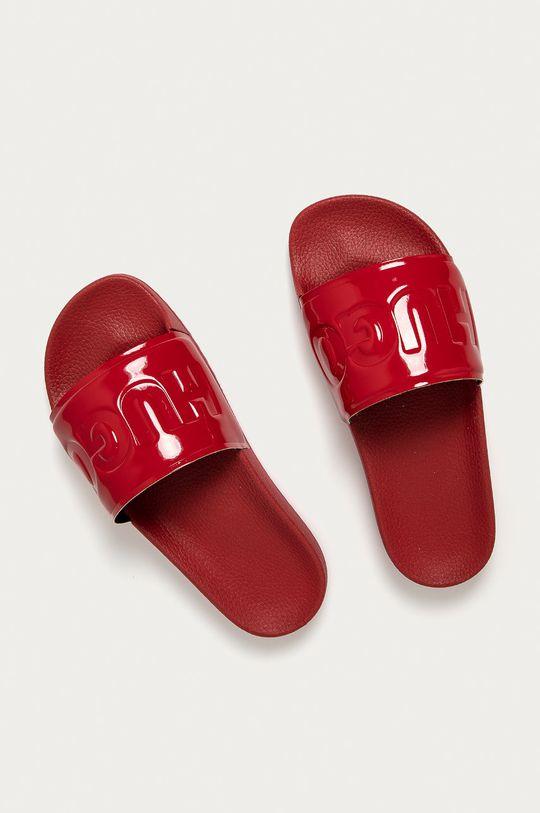Hugo - Klapki czerwony
