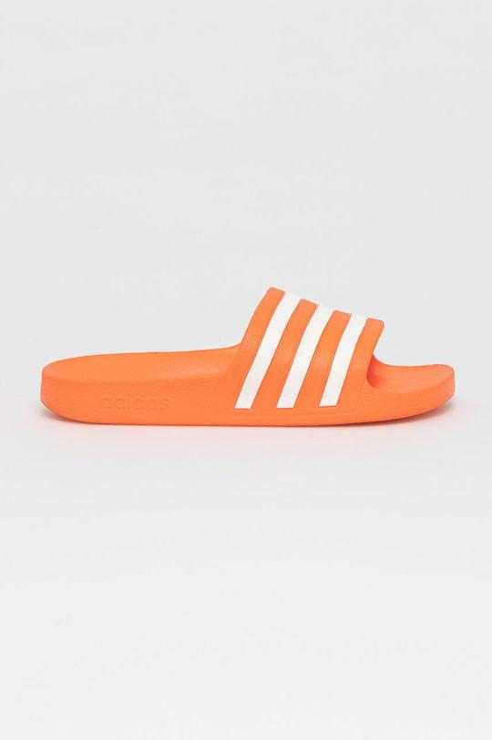 mandarínková adidas - Šľapky Adilette Aqua Dámsky