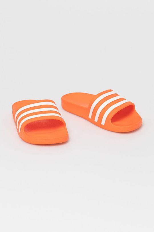 adidas - Šľapky Adilette Aqua mandarínková