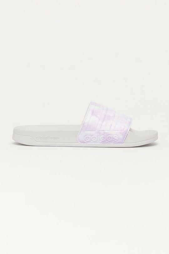 levanduľová adidas - Šľapky Adilette Dámsky