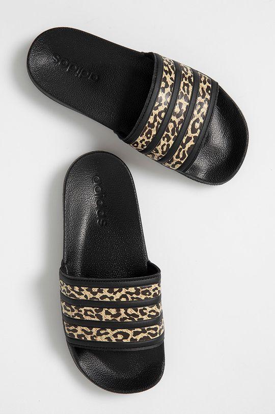 adidas - Klapki czarny
