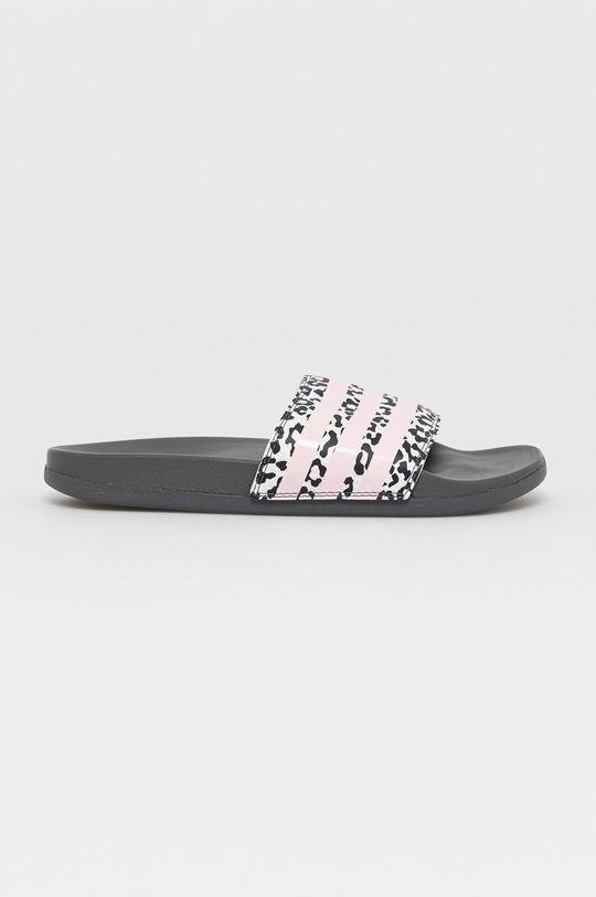 ružová adidas - Šľapky Dámsky