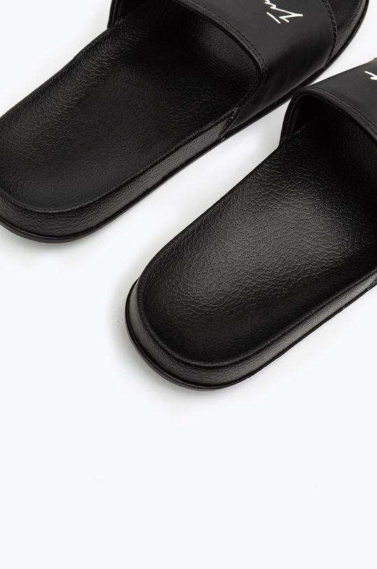 čierna Hype - Šľapky SIGNATURE