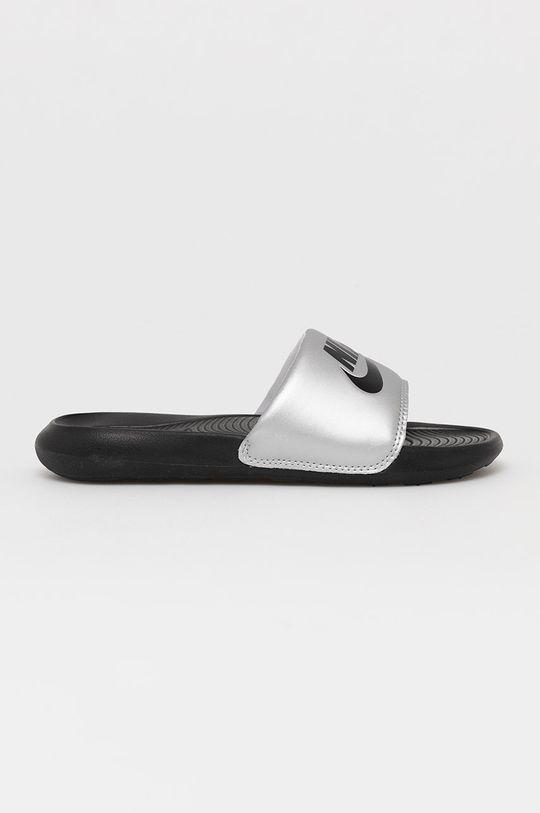 strieborná Nike Sportswear - Šľapky Dámsky