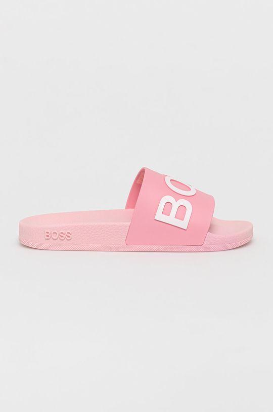 ružová Boss - Šľapky Dámsky