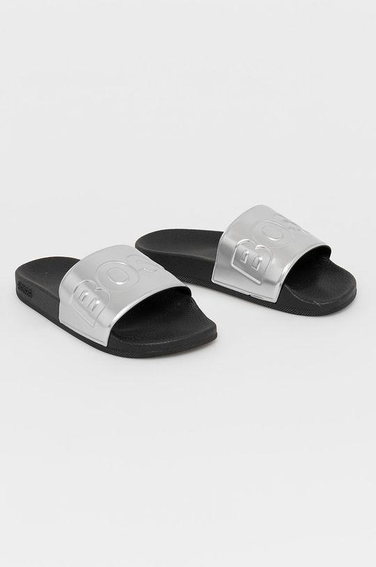 Boss - Pantofle stříbrná