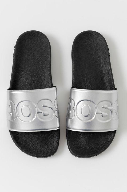stříbrná Boss - Pantofle