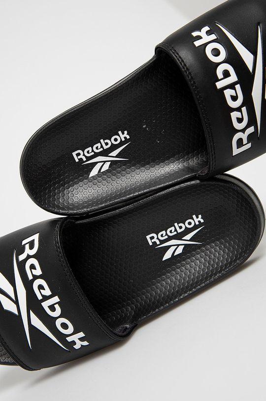 čierna Reebok Classic - Šľapky