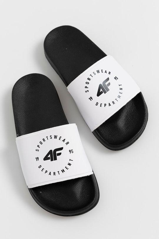 4F - Šľapky biela