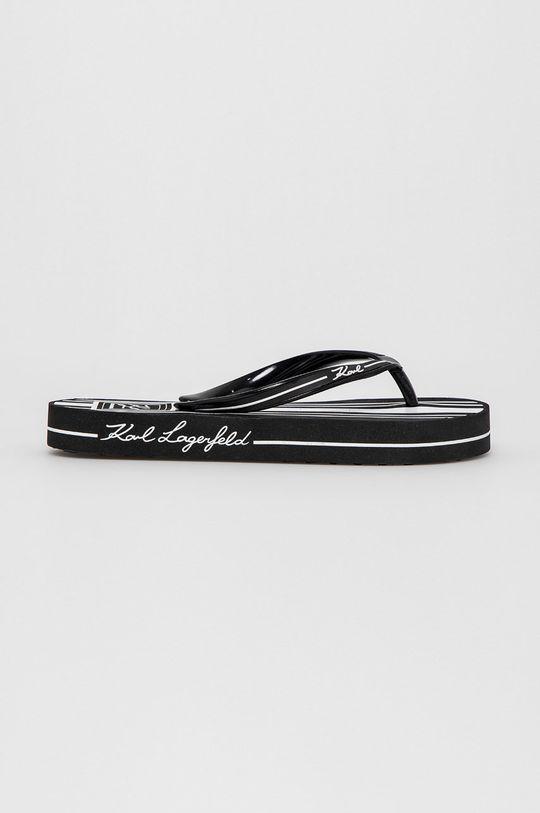 černá Karl Lagerfeld - Žabky Dámský