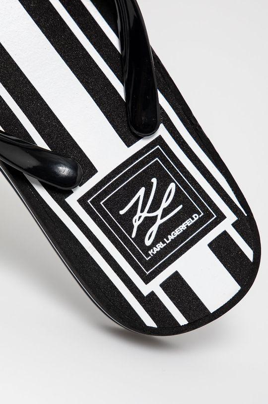 Karl Lagerfeld - Žabky  Umělá hmota