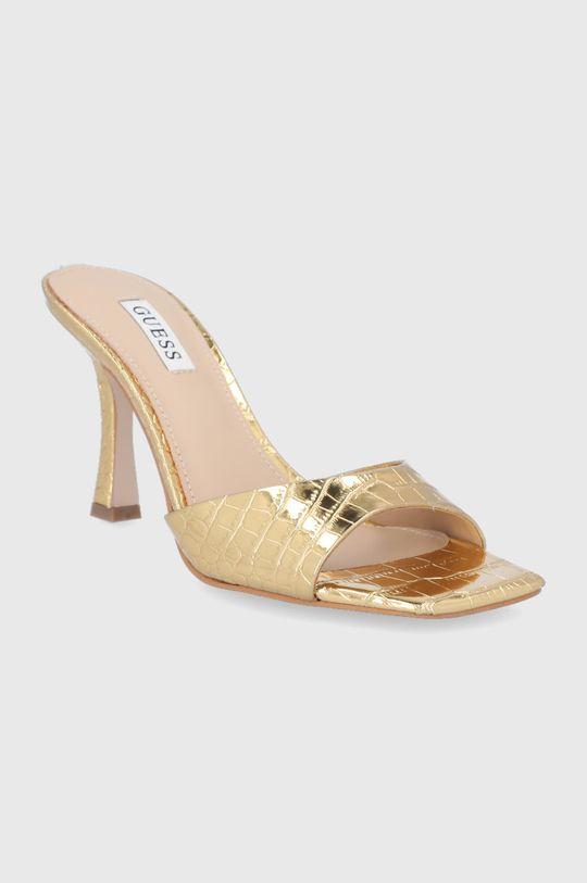 Guess - Pantofle zlatá
