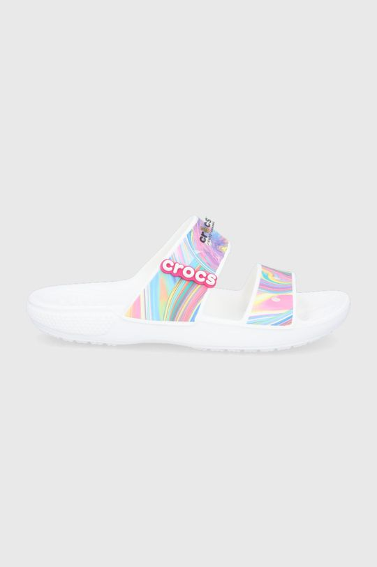 multicolor Crocs - Klapki Damski