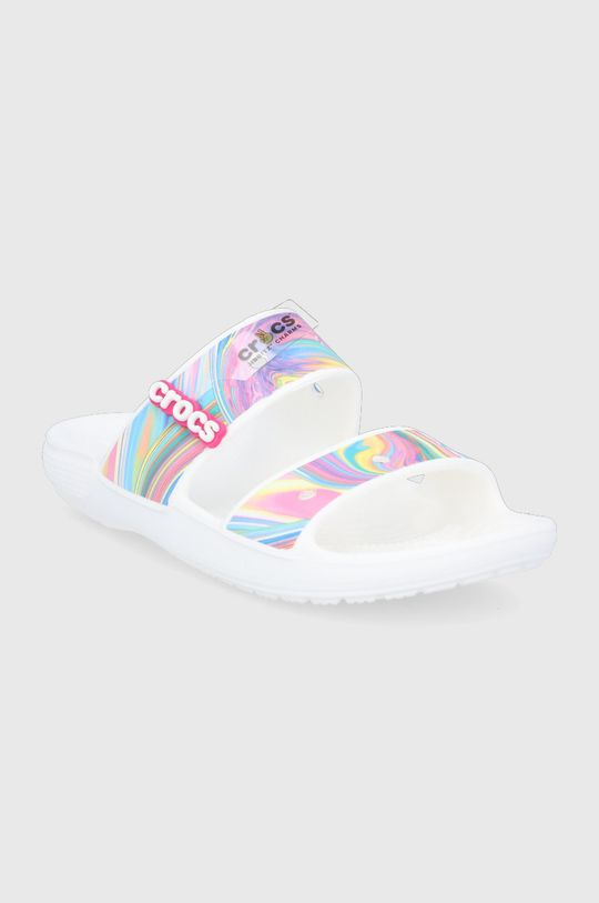 Crocs - Klapki multicolor