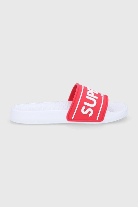 červená Superdry - Pantofle Dámský
