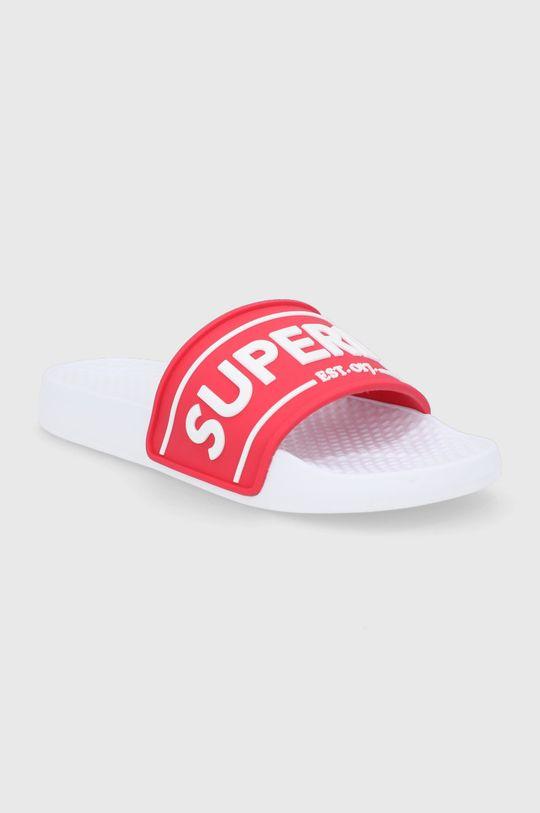 Superdry - Pantofle červená