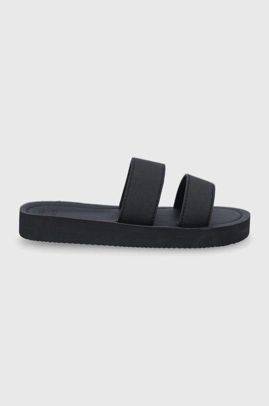 černá Superdry - Pantofle Dámský