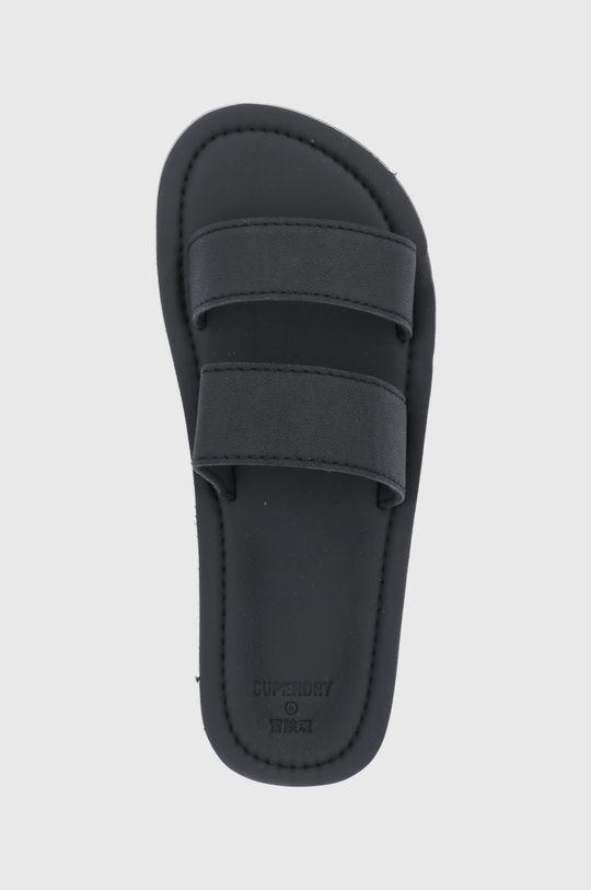 černá Superdry - Pantofle