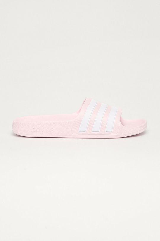 růžová adidas - Dětské pantofle Adilette Dívčí