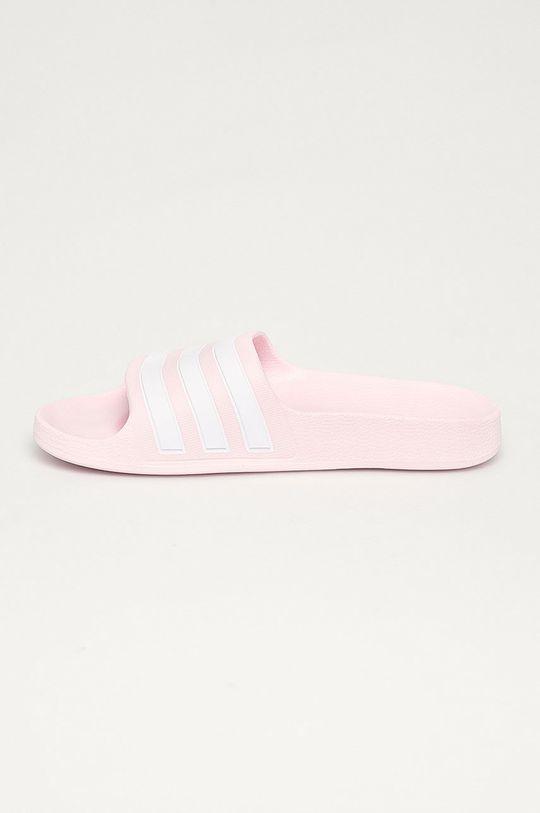 růžová adidas - Dětské pantofle Adilette