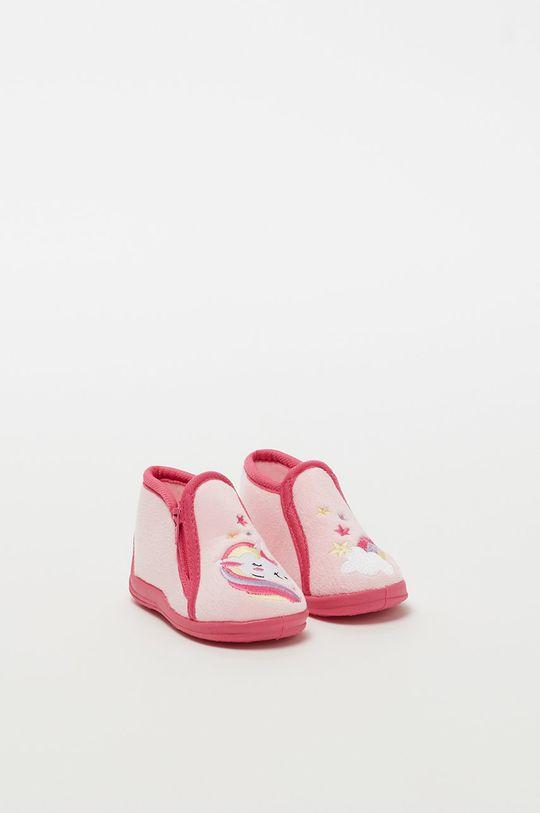 růžová OVS - Dětské papuče Dívčí