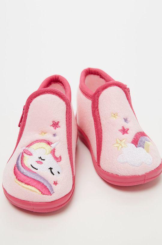OVS - Dětské papuče růžová