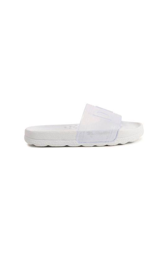 Dkny - Dětské pantofle bílá