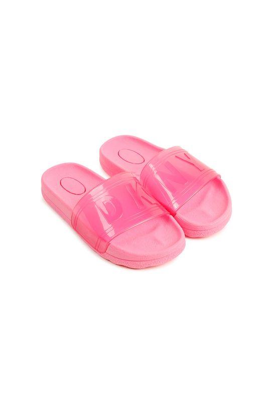 růžová Dkny - Dětské pantofle Dívčí