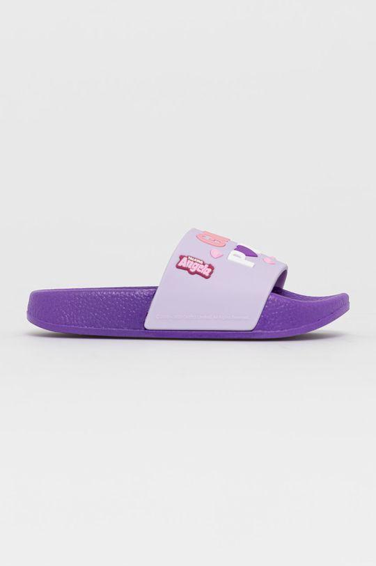 fialová Coqui - Dětské pantofle Dívčí