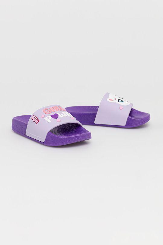 Coqui - Dětské pantofle fialová
