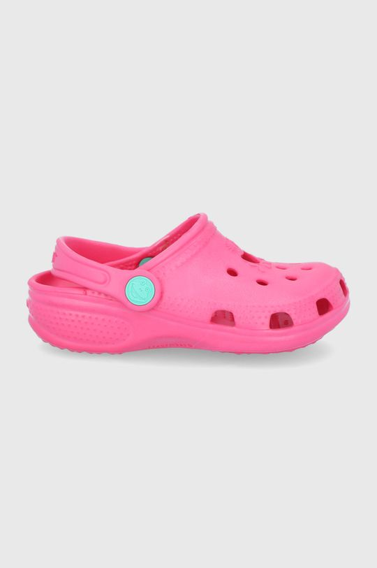 fuchsiová Coqui - Dětské pantofle Dívčí