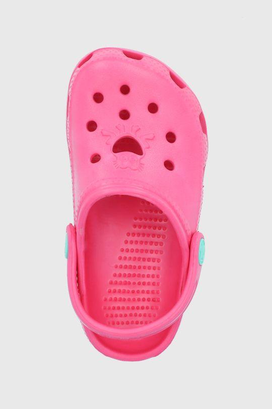 fuchsiová Coqui - Dětské pantofle