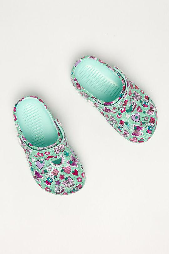 tyrkysová Coqui - Dětské pantofle